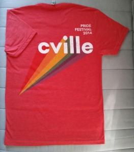 cville pride festival shirt